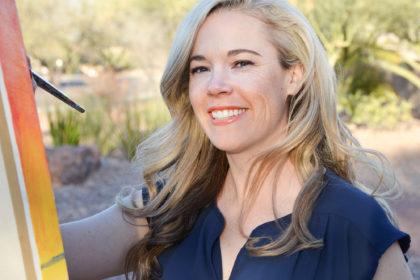 Julie Bonner Artist the Faces of Tucson AZ
