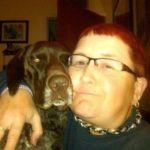 Beth Heidenreich and Rumor the dog the Faces of Tucson AZ
